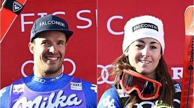 Audi Fis Ski World Cup: la Goggia arriva prima e Innerhofer secondo