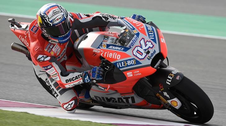 MotoGp Qatar, è dominio Dovizioso, solo nono Rossi