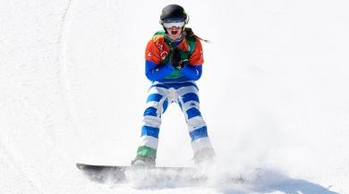 Snowboard-cross, Moioli piglia tutto!