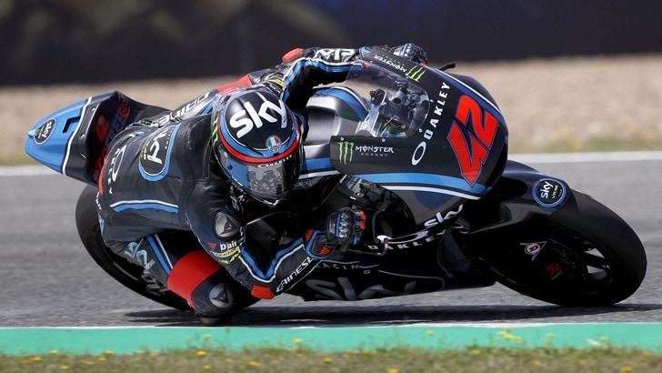 Moto2 Qatar: pole di Marquez, poi l'Italia