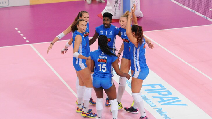 Volley: A2 Femminile, Club Italia pronto riscatto, Ravenna ko