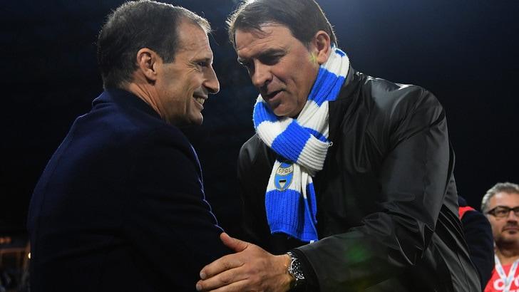 Serie A Spal, Semplici: «Abbiamo limitato la Juventus»