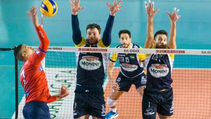 Volley: A2 Maschile, Pool A, Roma fallisce il match point, Santa Croce si avvicina