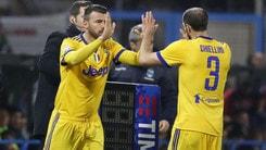 Juventus, ansia Chiellini. Il Real Madrid è a rischio