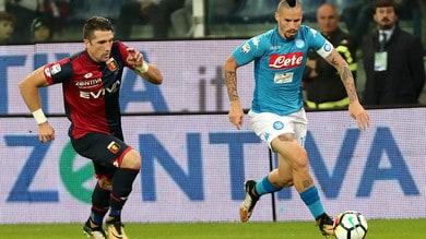 Serie A Napoli-Genoa, probabili formazioni e tempo reale alle 20.45. Dove vederla in tv