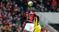 Ligue 1, Nizza-Rennes 1-1: Balotelli non trova il gol