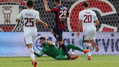 Serie A Crotone-Roma 0-2, il tabellino
