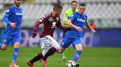 Serie A Torino-Fiorentina 1-2, il tabellino