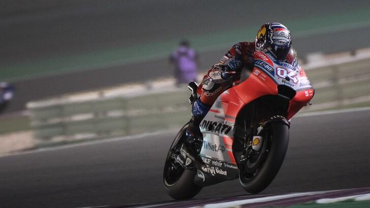 MotoGp Qatar, vince Dovizioso, Rossi chiude 3°