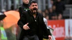 Milan, Gattuso: «Kalinic? Chi non si allena bene resta a casa»