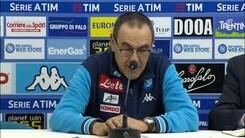 """Sarri: """"Juve palesemente favorita per lo scudetto"""""""