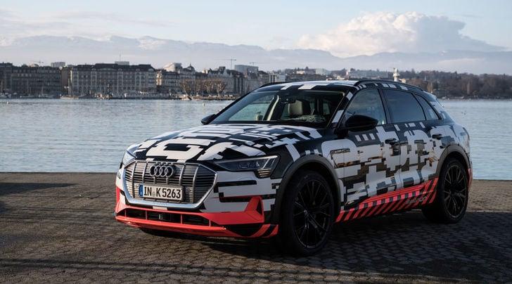 Audi e-tron, il Suv elettrico su strada entro fine anno