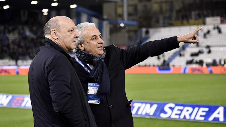 Serie A, il presidente Mattioli: «Spal-Juventus passerà alla storia»