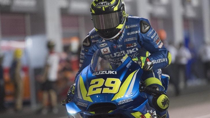 MotoGp Qatar, Iannone: «Non molto soddisfatto del risultato»