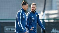 Higuain si prepara a sfidare Buffon con l'Argentina, Matuidi suda con Pogba