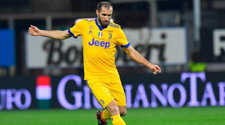 Juventus, l'aggiornamento sulle condizioni di Chiellini