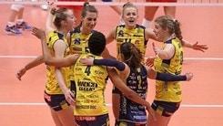 Volley: Champions League, match di l'andata dei Play Off 6 per Novara e Conegliano