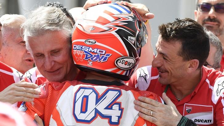 MotoGp Ducati, Ciabatti: «Abbiamo moto, squadra e pilota per puntare al Mondiale»