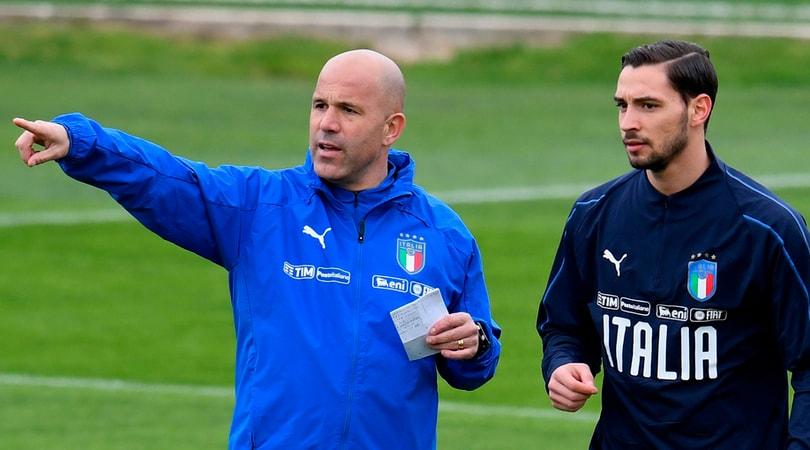 """Italia, prove di 4-3-3 per Di Biagio che si dà al """"gioco delle coppie"""""""