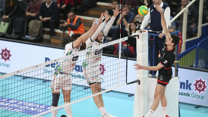 Volley: Champions League, Trento vince 3-0 ed è ai Play Off 6