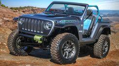 Jeep, le magnifiche sette all'Easter Safari