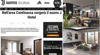 """Juventus, """"cittadella"""" in espansione: ecco il J Hotelnell'area Continassa"""