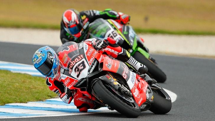 Superbike Ducati, Melandri: «Sarà una gara da non perdere»