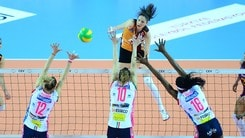 Volley: Champions League, Play Off 6: Novara batte il Galatasaray al tie break
