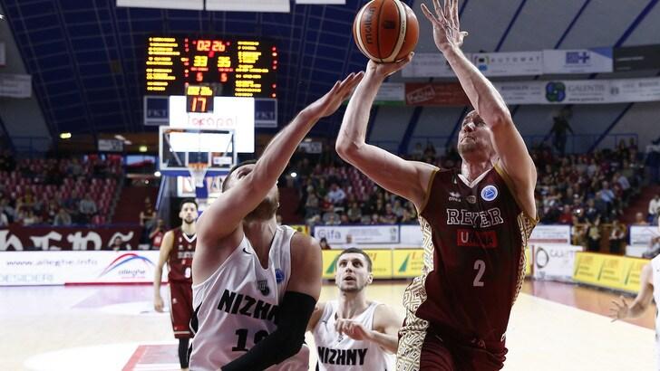 FIBA Europe Cup, Venezia supera il Nizhny Novgorod