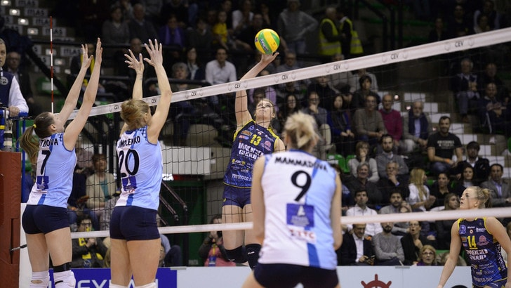Volley: Champions League, Conegliano capolavoro, la Dinamo Kazan si inchina