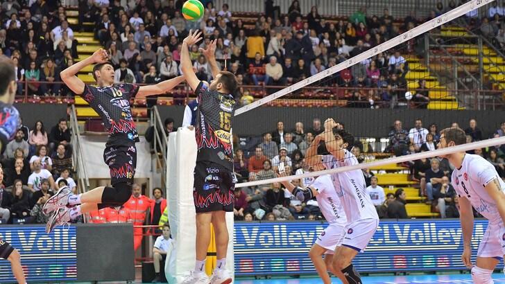 Volley: Champions League, Perugia rullo compressore, 3-0 all'Halkbank