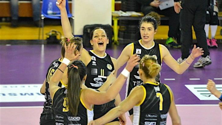Volley: A2 Femminile, Cuneo sbanca Collegno, Brescia e Mondovì restano in scia