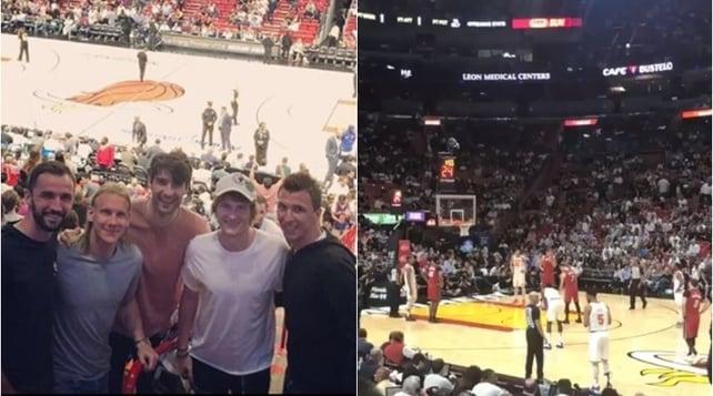 Miami, Djokovic insieme aMandzukic ePerisic