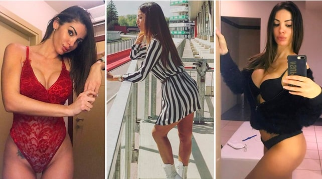 """Jessica Zanazzi, la sexy """"ombrellina"""" che infiamma i Gran Premi"""