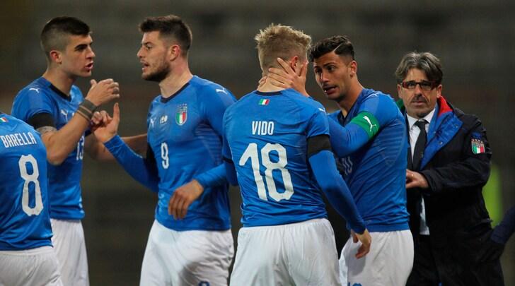 Under 21, Italia-Norvegia 1-1: Vido risponde a Bjordal