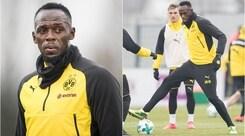 E' il grande giorno di Bolt: primo allenamento con il Borussia Dortmund