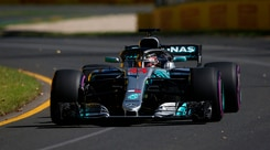 F1 Australia, Hamilton: «Abbiamo iniziato con il piede giusto»