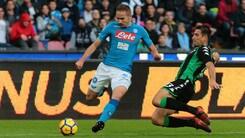 Serie A, cambia l'orario di Sassuolo-Napoli: inizio ore 18