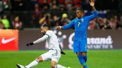 Russia-Brasile 0-3: Douglas Costa in campo 90'