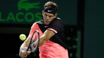 Tennis, Miami Open: esordio ok per Del Potro e Dimitrov, Wozniacki ko