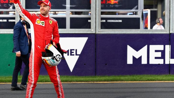 F1 Australia, Vettel: «Speriamo nel due contro uno»