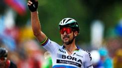 Gand-Wevelgem, lo slovacco Sagan vince in volata: delusione per Viviani