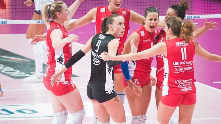 Volley: A2 Femminile, Cuneo e Brescia fanno il vuoto