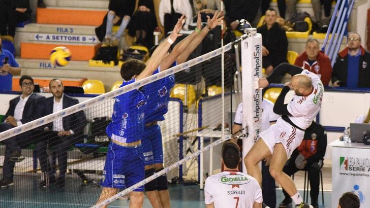 Volley: A2 Maschile, Pool B, Gioia del Colle batte Alessano e chiude prima