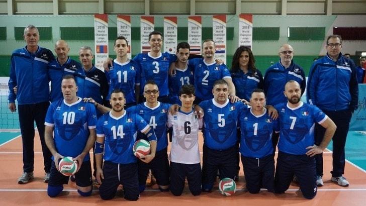 Sitting Volley: Qualificazioni Mondiali, l'Italia lotta ma la Lettonia è più forte