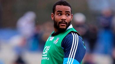 Rugby, Zebre: Mbandà operato al ginocchio a Roma