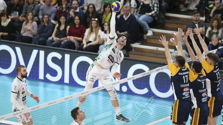 Volley: Superlega,  Filippo Lanza è l'MVP dei Quarti Play Off