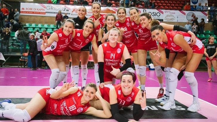 Volley: A2 Femminile, a Pasquetta Cuneo rischia il primato a Mondovì