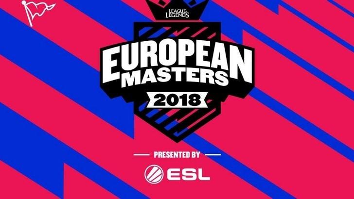 Annunciato il formato per l'European Masters!