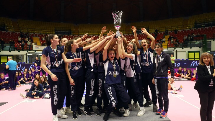 Volley: Girl League, il trofeo lo alza Monza